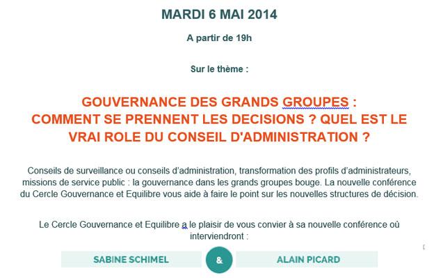 Gouvernance des grands groupes